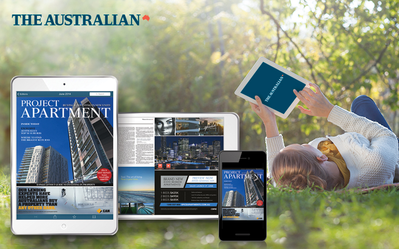 property development interactive digital publication