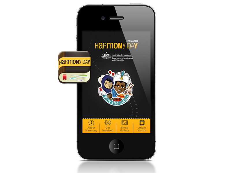 Harmony Day Stories Augmented Reality App Development Company Applause Digital Sydney Brisbane
